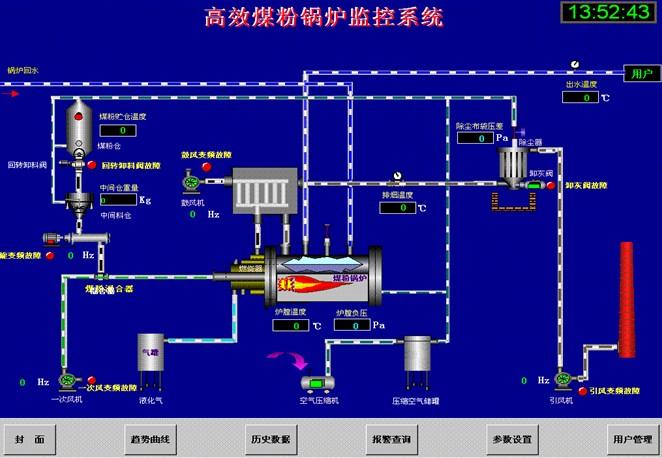 锅炉温度传感器电路图